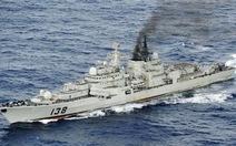 11 tàu chiến Trung Quốc ngoài khơi biển Nhật Bản