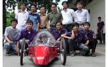 Ôtô sinh viên chạy 320km/lít xăng