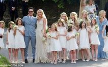 Chùm ảnh đám cưới siêu mẫu Kate Moss