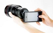 Gắn ống kính chuyên nghiệp cho iPhone