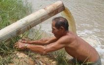 Nước lên, hàng ngàn hecta lúa bị ngập