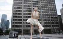 Marilyn Monroe gây náo động tại Chicago