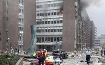 Nổ lớn gần tòa nhà chính phủ Na Uy