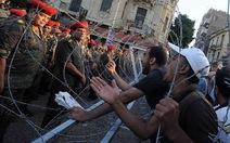 Biểu tình đổ máu ở Ai Cập