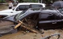 Gần 100 người chết vì mưa lũ ở Hàn Quốc và Trung Quốc