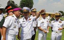 Tư lệnh hải quân ASEAN thăm Đoàn tên lửa bờ 679
