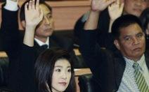 Thái Lan phê chuẩn bà Yingluck làm thủ tướng