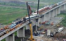 Trung Quốc ngừng cấp phép dự án đường sắt mới
