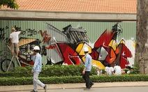 Khi người trẻ Sài Gòn vẽ graffiti