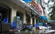 Nổ khí gas, nhà hàng bia Hải Xồm bị phá hủy