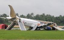 Ấn Độ: máy bay trượt đường băng, 7 người bị thương