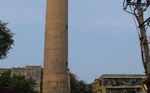 Tháo dỡ tháp nước cũ trước ngày 30-11