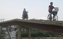 Nghệ An: qua cầu bê tông mà nổi da gà
