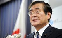 Tân bộ trưởng kinh tế Nhật từ chức vì vạ miệng