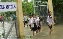 Đồng Tháp: Lũ dâng, nhiều trường học đóng cửa