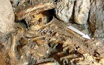 Tìm thấy bộ xương nữ hoàng Maya