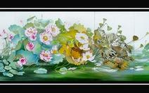 Triển lãm tranh Thì thầm với sen