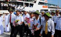 Đoàn cựu binh tàu không số đến Vũng Rô
