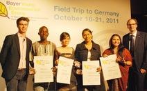 Vinh danh 4 lãnh đạo môi trường trẻ tuổi toàn cầu