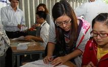 Năm 2012, một số trường được tuyển sinh riêng