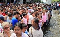 Nước sông Chao Phraya đạt kỷ lục 2,53m