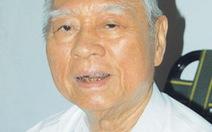 Nguyên bí thư Thành ủy TP.HCM Võ Trần Chí từ trần