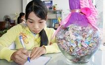 Cô gái khuyết tật và 1.000 hạc giấy
