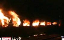 Ấn Độ: cháy tàu tốc hành, ít nhất 7 người chết