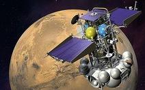 Bắt được tín hiệu từ tàu Phobos-Grunt bị mất tích