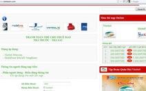 Thêm website lừa nạp tiền điện thoại