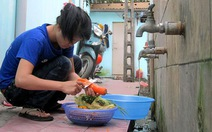 Sinh viên mong dùng nước sạch