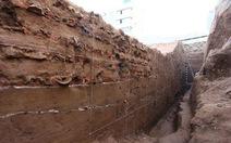 Phát lộ tường Hoàng thành Thăng Long thời Lê Sơ