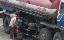 Tái diễn nạn bán xăng lậu