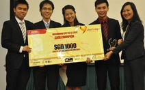 Thử thách trẻ 2011: Ý tưởng kinh doanh độc đáo