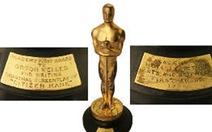 Hơn 862.000 USD cho tượng vàng Oscar của Orson Welles