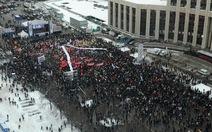 Nga: biểu tình quy mô lớn lần hai ở thủ đô