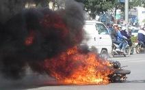 Bộ Công an công bố nguyên nhân cháy nổ xe