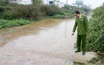 Trạm xử lý nước thải xả thải ra sông
