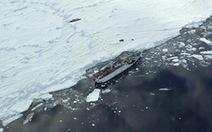Giải cứu thành công tàu bị kẹt gần Nam cực