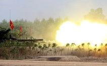 Binh đoàn Cửu Long diễn tập bắn đạn thật
