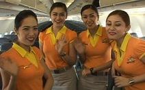 Nhảy múa hướng dẫn an toàn trên máy bay