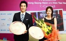 Hai ngôi sao Hàn: thân thiện và cởi mở