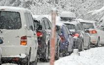 Áo: tuyết dày hơn 1,2m làm gián đoạn giao thông