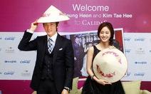 Song Seung Hun đội nón lá VN