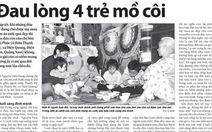 Bạn đọc giúp 4 trẻ mồ côi