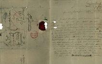 Công bố thư viết tay của Beethoven