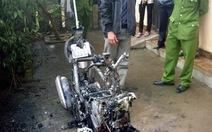 Vụ cháy xe máy ở Quảng Bình: Không cháy 210 triệu đồng