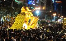 Hơn 1 triệu lượt người tham quan đường hoa Nguyễn Huệ