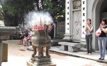 Tết xanh nơi cổng chùa