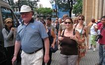 Khách du lịch nước ngoài đến VN tăng